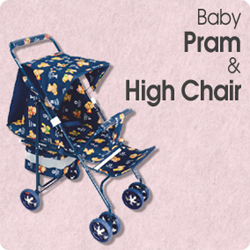Baby Pram & High Chair
